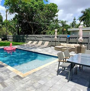 3 Bedrooms Oasis House With Pool In Ft Lauderdale photos Exterior