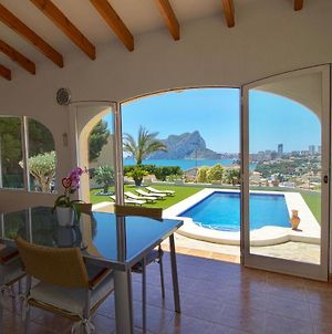 Comfortable Villa Levadia Near To The Beach With The Swimming Pool & View To The Rock Ifach In Calpe photos Exterior