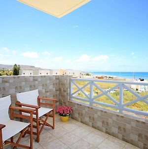 Swim, Sunbathe, Relax In Beach Front Apt Theodosia photos Exterior