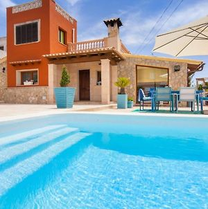 House With 3 Bedrooms In Llucmajor, With Wonderful Sea View, Private P photos Exterior