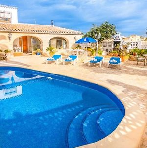 Villa With 3 Bedrooms In Benissa, With Private Pool, Enclosed Garden A photos Exterior