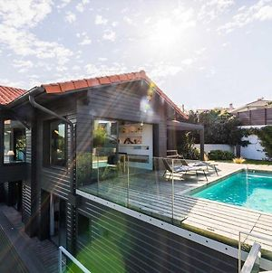 Contemporary Villa With Pool, Fireplace, Ocean Views In Biarritz photos Exterior