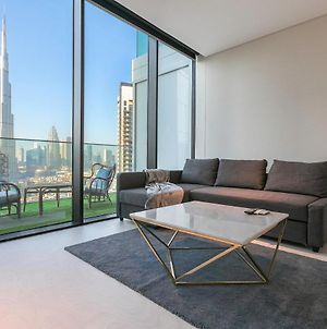 Studio In Marquise Square With Burj Khalifa View photos Exterior