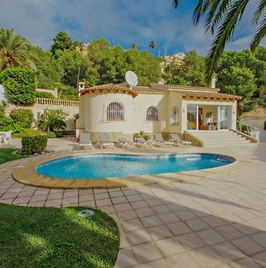 Alldo - Hill Side With Private Pool In Moraira photos Exterior