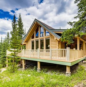 New Listing! Charming Log Home With Private Hot Tub Home photos Exterior
