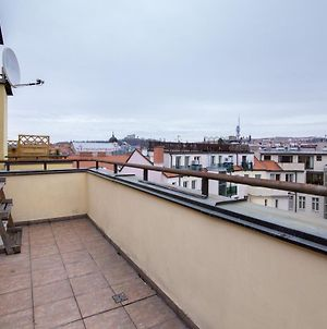 Prague Sunset Flat With Balcony #39 photos Exterior