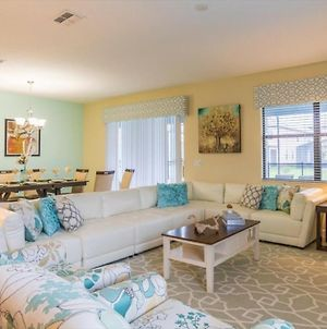 Luxury On A Budget - Champions Gate Resort - Beautiful Cozy 9 Beds 5 Baths Townhome - 7 Miles To Disney photos Exterior