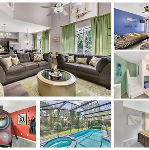 Themed Luxury Villa - Private Pool- 5 Star Resort- Minutes To Disney photos Exterior