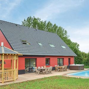 Amazing Home In Saint-Denoeux W/ Jacuzzi, Heated Swimming Pool And 4 Bedrooms photos Exterior
