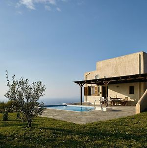 The Pool Garden House With A Fantastic Sea And Sunset View, Only 5 Minutes From Ioulida photos Exterior