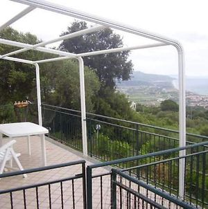 House With One Bedroom In Casal Velino With Wonderful Sea View And Enclosed Garden 6 Km From The Beach photos Exterior