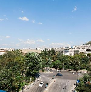 Central High-Class And Safe Rooms Next To Metro Airport Line With Acropolis View From Balcony photos Exterior