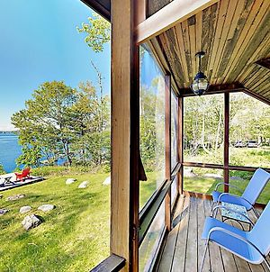 New Listing! Waterfront Paradise With Dock & Views Cottage photos Exterior