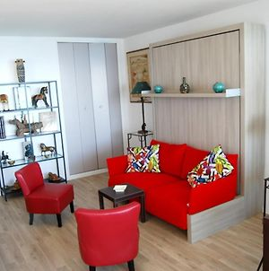 Studio In Biarritz With Wonderful Sea View Furnished Terrace And Wifi 20 M From The Beach photos Exterior