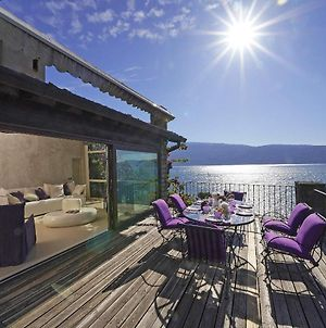 Villa Rachele: Stunning Luxury Villa In Centre Gargnano With Private Pool And Breathtaking Views photos Exterior