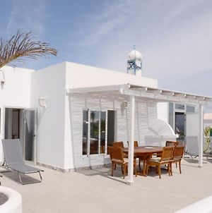 2 Bedroom Villa With Private Pool And Sea View In The Nudist Resort Charco Del Palo photos Exterior