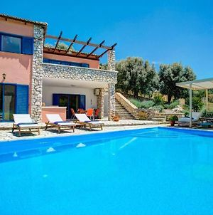 Syvota Villa Sleeps 6 Pool Air Con Wifi T604923 photos Exterior