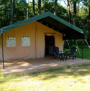 Safari Tent At Minicamping Chateau De Satenot photos Exterior