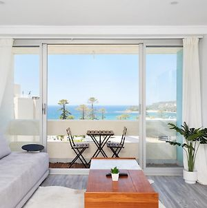 Panoramic Ocean Views In Stylish Manly Apartment photos Exterior