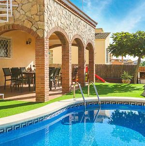 Awesome Home In Pineda De Mar W/ Outdoor Swimming Pool And 3 Bedrooms photos Exterior