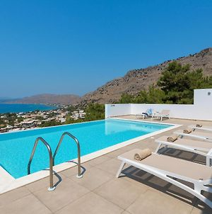 Villa Allegra With Pool In Pefkos, Lindos Area photos Exterior