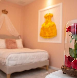 Luxury Disney Mickey Heroes And Princess Bedrooms At Solara Resort 7 Bedrooms Private Pool photos Exterior