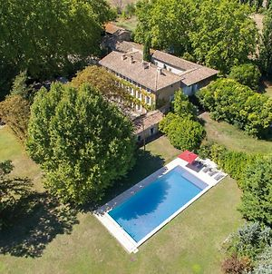 L'Isle-Sur-La-Sorgue Chateau Sleeps 15 With Pool Air Con And Wifi photos Exterior