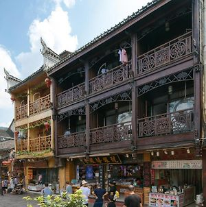 Floral Hotel-Fenghuang Ancient City Danshui Yunkuo Riverview Light Luxury Homestay photos Exterior