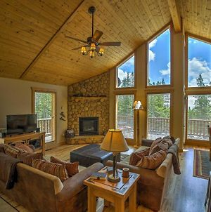 Log Cabin In The Woods With Game Room And Mtn-View Deck photos Exterior