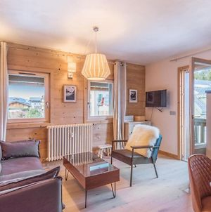Architect Flat With Balcony And Parking At The Heart Of Megeve - Welkeys photos Exterior