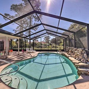 Pet-Friendly Retreat In Palm Coast With Lanai And Pool photos Exterior