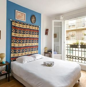 Comfortable Parisian Home 2Mins From Metro Line 7 photos Exterior