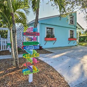 Tropical Hobe Sound Cottage Less Than 2 Mi From The Beach photos Exterior