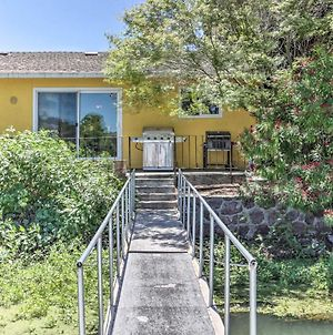 Wine Country Oasis With Waterfront Terrace And Dock! photos Exterior