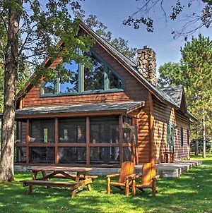 Alluring Nisswa Cabin On Gull Lake With Fireplace! photos Exterior