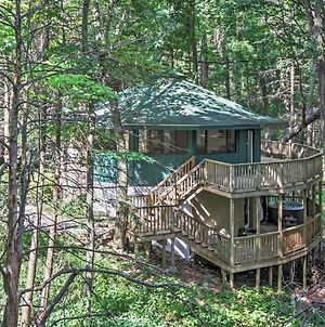 Unique Gatlinburg Cabin With Decks, Hot Tub, Fire Pit photos Exterior