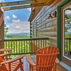Secluded Morganton Cabin With Wooded Views And Hot Tub photos Exterior
