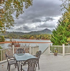 Waterfront Hiawassee Home With Dock And Hot Tub! photos Exterior