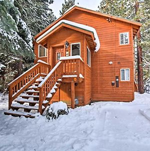 Tahoma Cabin With Hot Tub 5 Minutes From Ski Slopes! photos Exterior