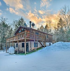 Jewett Cabin With Viewing Deck - 10 Mins To Skiing! photos Exterior