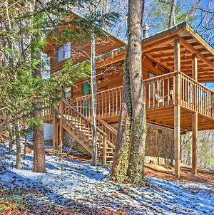 Sautee Nacoochee Cabin With Spacious Deck! photos Exterior