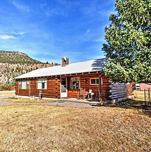 South Fork Log Cabin With Beautiful Mountain Views! photos Exterior