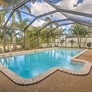 Central Cape Coral Home With Dock On Freshwater Canal photos Exterior
