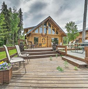 Soldotna Fishing Lodges With Dock On Kenai River! photos Exterior
