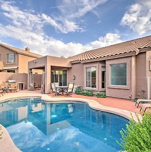 Modern Mesa Oasis With Pool, Patio And Desert View! photos Exterior