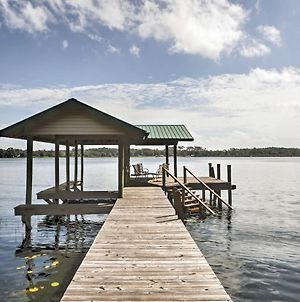 Waterfront Pomona Park Home With Dock On Lake Broward photos Exterior
