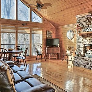 Roomy Riverfront 'Trout Valley Cabin' With Fishing! photos Exterior