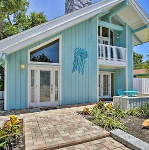 Cape Canaveral Cottage With Pool - Walk To Beach! photos Exterior