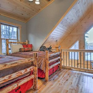 Dream Log Cabin In Bethel - 15 Min To Ski Resort! photos Exterior
