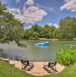 Spacious Lakefront Round Rock House With Water Toys! photos Exterior